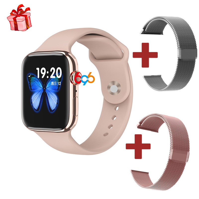 IWO Smart Watch Men Woman Heart Rate Monitor Call Message Reminder F18 smartwatch 1:1 Watch 5 Support BT call For Android IOS M5 image