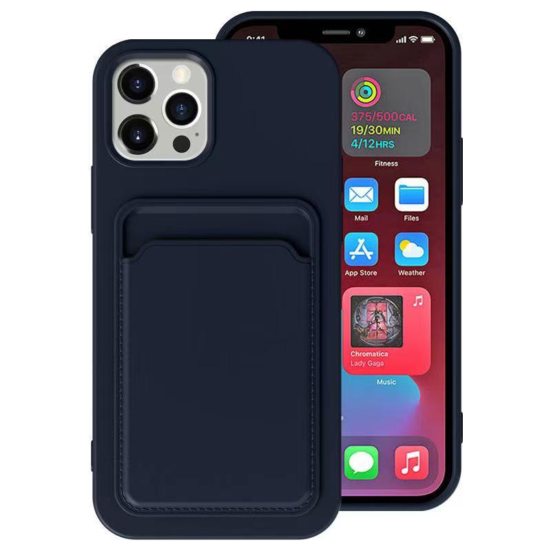 H0b5a515b8e2e417eae40f4f4387abd51N Capinha carteira case telefone iphone 12 pro max mini se 2020 11 xs x xr 6 7 8 plus tpu carteira macia capa traseira à prova de choque coque novo