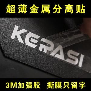 Image 5 - Benutzerdefinierte metall aufkleber name logo, luxury self adhesive metall aufkleber gläser flasche, geprägte metall label aufkleber kunststoff
