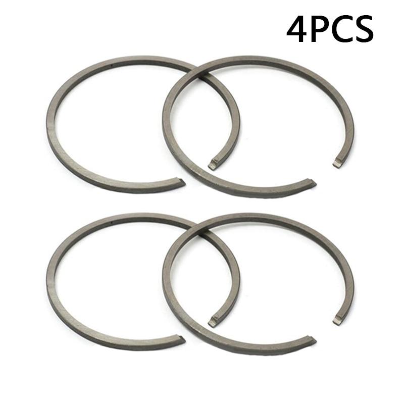 4 Pcs 34mm Piston Ring For Stihl FS45 FS75 Bore Replaces #4137 034 3000