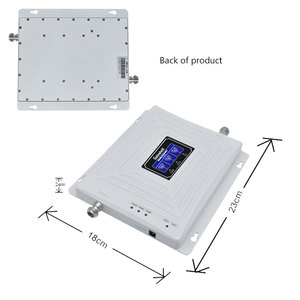 Image 2 - Lintratek Tri Band 900 1800 2100 GSM DCS WCDMA 2G 3G 4G LTE Signal Booster 900/1800/2100 Cell phone Cellular Repeater Amplifier