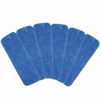 ¡Promoción! 8 Uds. Cabezales de repuesto de microfibra para fregonas húmedas/secas almohadillas de limpieza de suelos compatibles con Bona Floor Care Syst