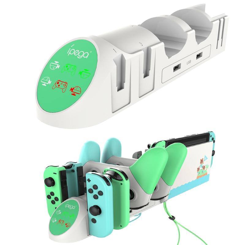 Contrôleur chargeur pour Nintendo Switch NS Joy-Con interrupteur Pro contrôleurs charge Station daccueil