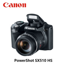 USED CANON 30x Digital CAMERA POWER SHOT SX510 HS 12.1MP WIF