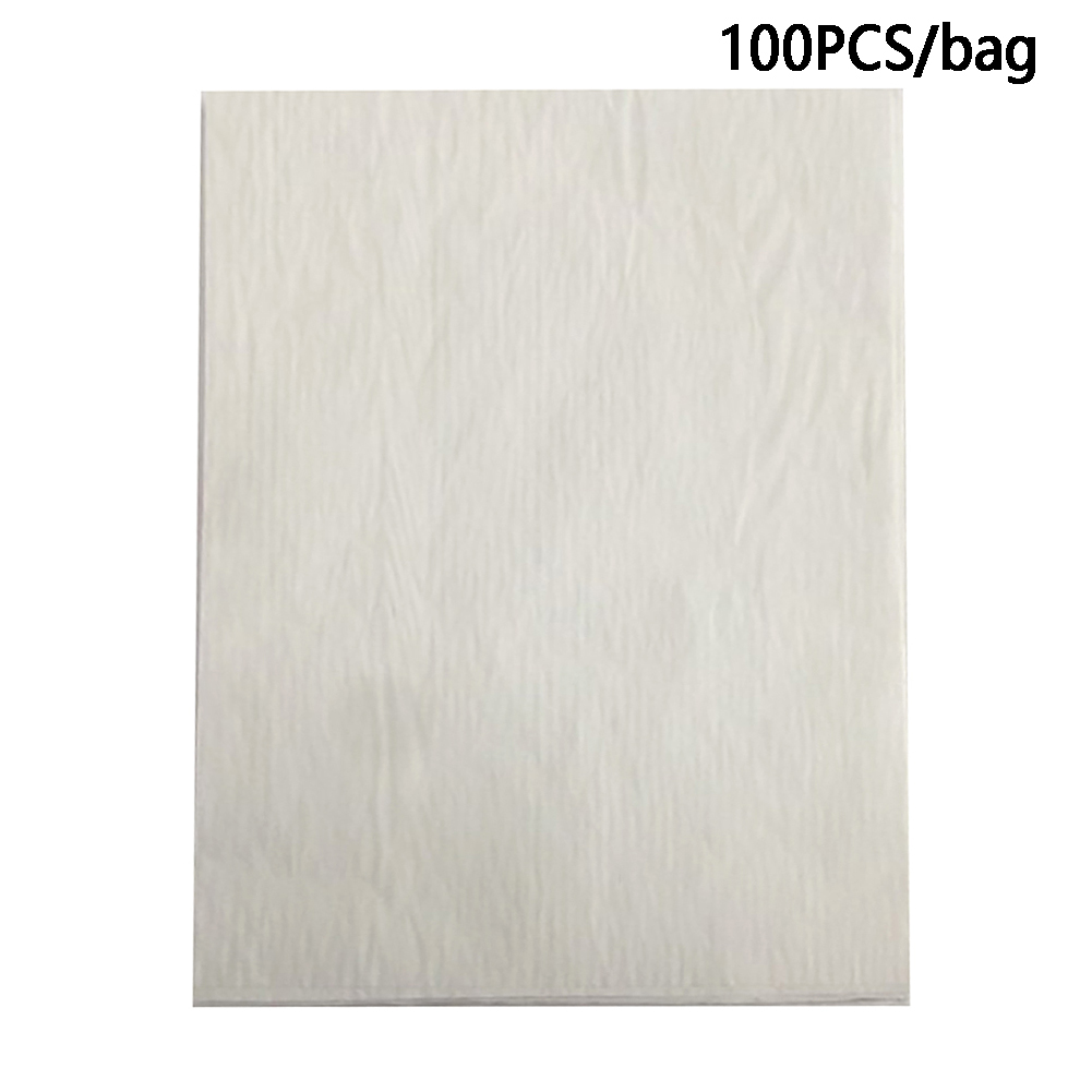 100pcs Home Office Colorful Carbon Paper One Side Fabric Drawing Transfer A4