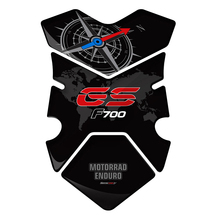 3D F700gsสติกเกอร์รถจักรยานยนต์Tankapadถังน้ำมันเชื้อเพลิงPad ProtectorสำหรับBMW F700GS F700 GS 2012 2013 2014 2015