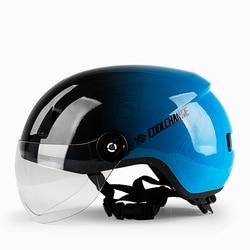 Motorcycles Electric Vehicles Helmet Man Lady Four Seasons Half Casque Locomotive Lovely Light Safety Helmets