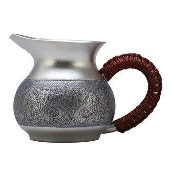 Tasse, kaffeetasse, teetasse, keramik tasse, edelstahl tasse, tee schüssel, becher, tee zeremonie tasse, handgemachte S999 sterling silber tasse, 3