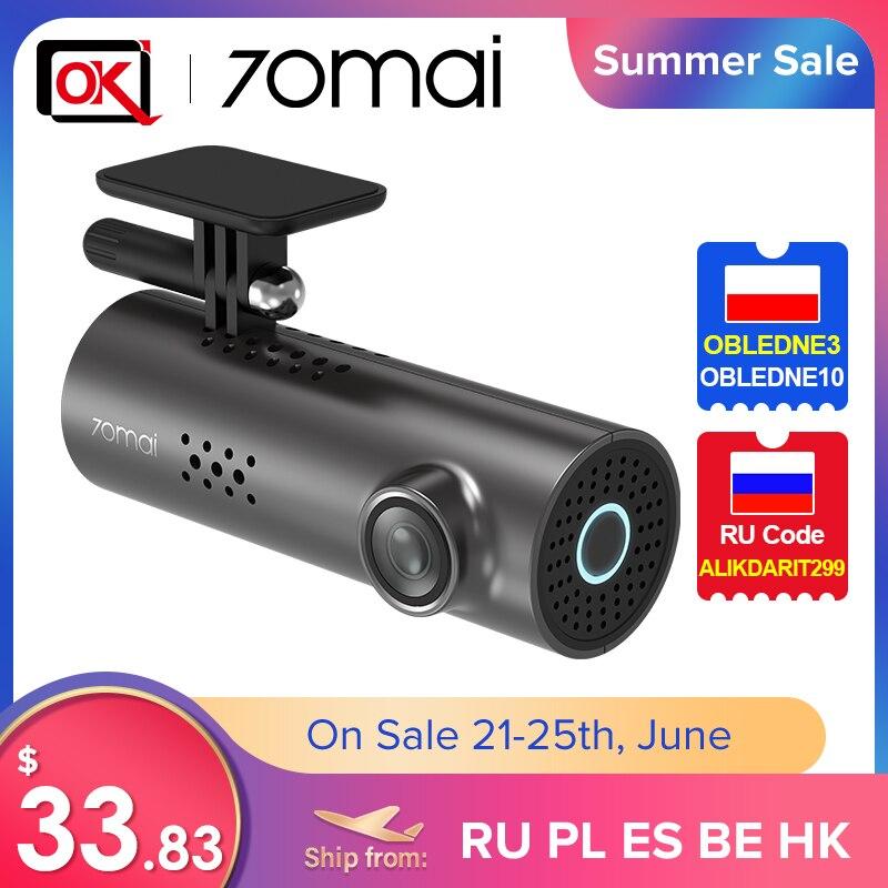 70mai Dash Cam 1S Auto DVR für Englisch Voice Control und 70 Mai 1S WIFI Wireless Verbindung 1080P HD Nachtsicht