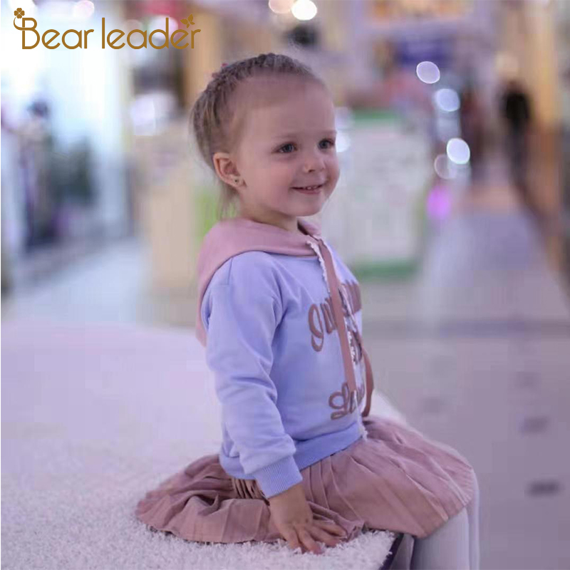 H0b5c5215cd5345a4ba64270579a4d821r Bear Leader Girls Dress 2019 New Autumn Casual Ruffles A-Line Striped Full Sleeve Kids Dress For 3T-7T