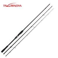 TSURINOYA Spinning Fishing Rod DETECTIVE 2.4m/2.7m/3.0m/3.3m M Inshore Fishing Seabass FUJI Guide Rings Reel Seat Long Casting