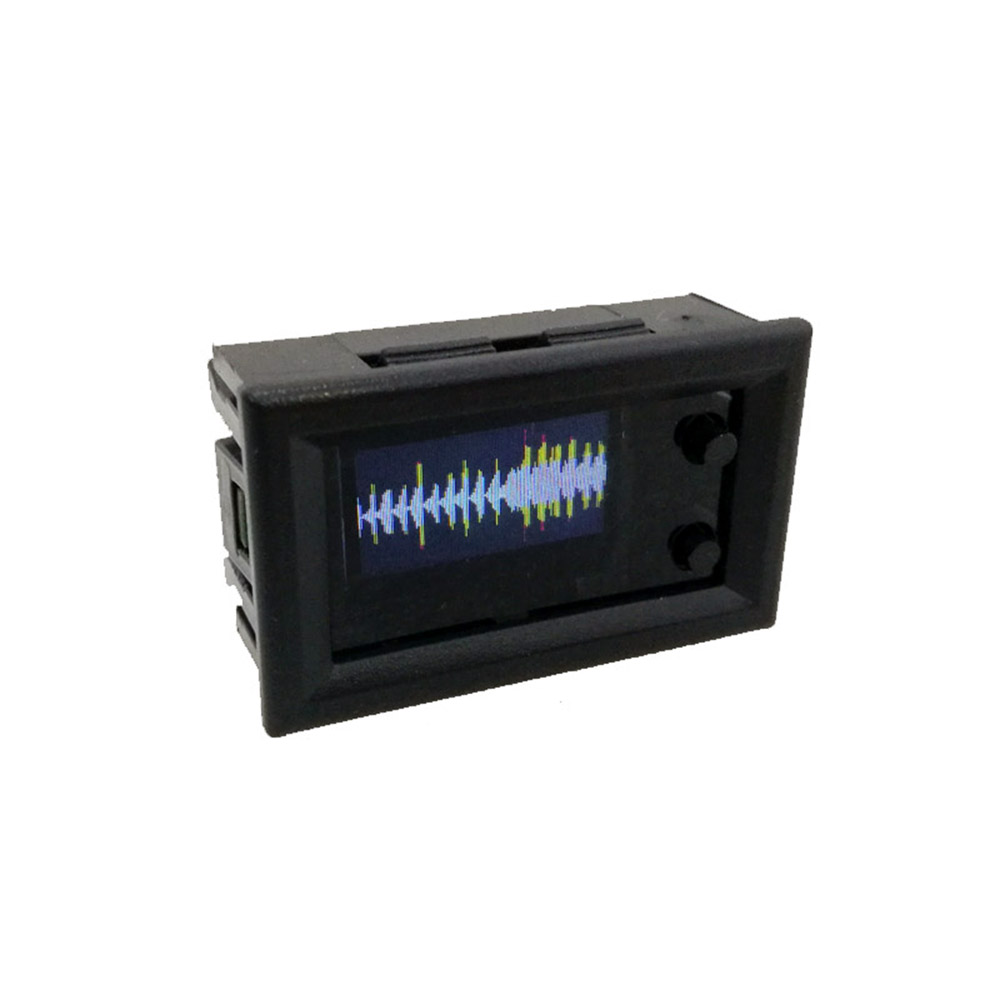 Taidacent Mini Color LCD Music Spectrum Display Module With Shell 0.96 Inch Color IPS Screen Multi Mode Audio Spectrum Monitor