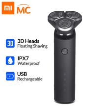 Xiaomi Electric-Shaver Beard-Trimmer Shaving-Machine Flex-Razor Dual-Blade Rechargeable