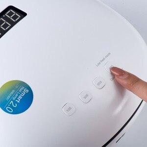 Image 3 - Sunuv sun4 48w uv lâmpadas led secador de unhas lâmpada com display lcd inteligente uv fototerapia unha arte manicure ferramenta senhoras presente