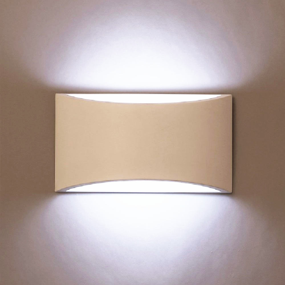 Modern Wall Light Handmade Plaster Lamp 5W G9 Replaceable LED 110V 220V Wall Mounted Gypsum Sconce Indoor Decorative Wall Lamp