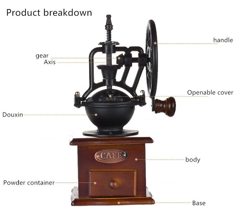 mão máquina de café para decoração casa