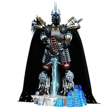 1680pcs WOW Character Lich King-arthas Death Knight Collectible Model Building Block Movie Figures Toys Kids Birthday Gift