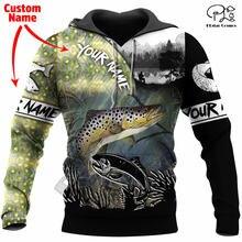 Модный свитшот plstar cosmos с 3d принтом в виде животных рыбалки