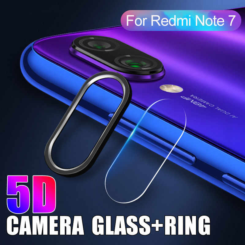 Metal Ring Camera Lens Protective Film for Redmi Note 7 7Pro Camera Lens Protective Screen Protector For  Xiomi Redmi Note 7 Pro