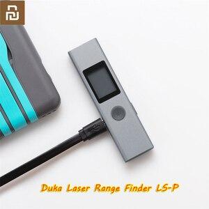 Image 2 - جهاز قياس مدى الليزر Youpin Duka 40 متر LS P فلاشة مزودة بفتحة يو إس بي جهاز كشف مدى الشحن عالي الدقة