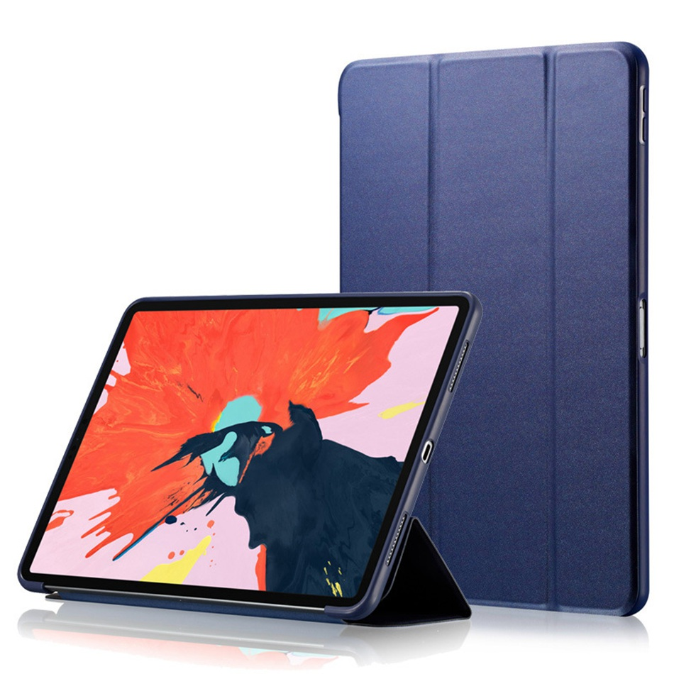 Axbety Folio Case For IPad 10.2 2019 Tablet Smart Auto Sleep/Wake Folding Stand Cover For Apple IPad 7th 10.2