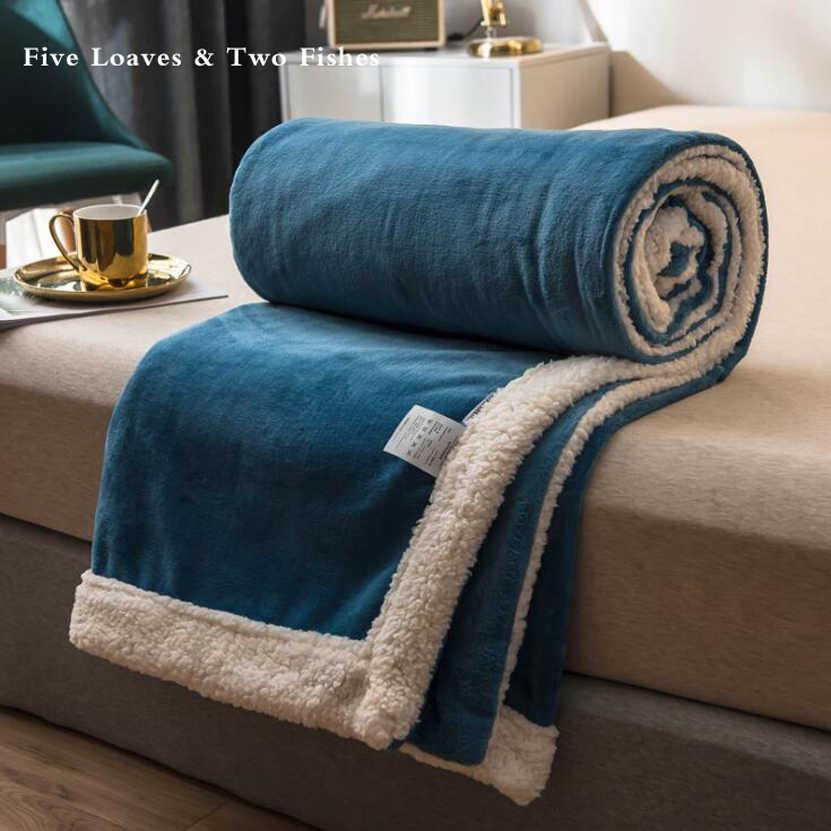 Bedding Thick Warm Flannel Blanket