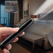 Anti Spy Camera Detector Pen Wireless RF Signal Eavesdropping Pinhole Hidden Cam Audio Bug GSM GPS Wiretapping Device Scanner