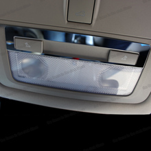 Lsrtw2017 Stainless Steel Car Reading Light Frame Trims for Chevrolet Cruze Malibu Buick Regal 2009-2020 Car Accessories lsrtw2017 stainless steel car lower window trims for peugeot 5008 accessories