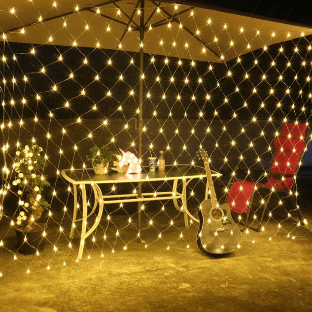 Zerouno Led Lighting String Strip Holiday Christmas New Year Gardern Lights Outdoor Decoration Lighting EU US Plug 110V 220V