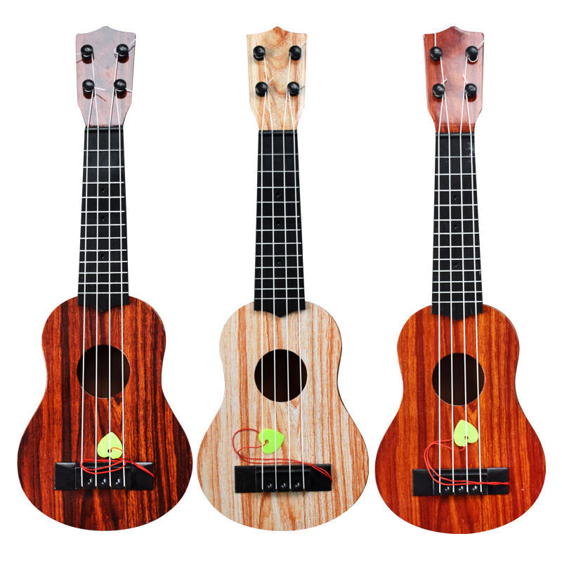 NEW Kids Ukulele Musical Instruments Toy Simulation Guitar Music Educational Development Birthday Gift