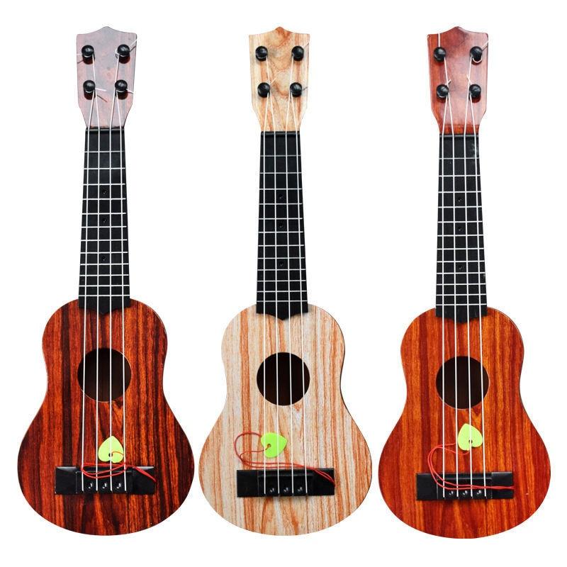 NEW Kids Ukulele Musical Instruments Toy Simulation Guitar Music Educational Development Birthday Gift