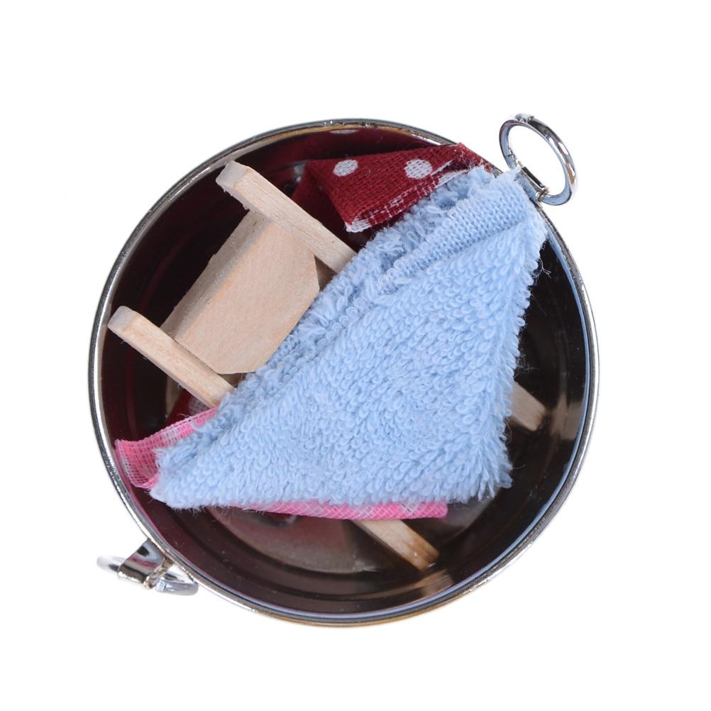 >New 1:12 Dolhouse Bath Products Set Dolls Accessories Doll <font><b>House</b></font> <font><b>Bathroom</b></font> <font><b>Decoration</b></font> Gift for Baby Toys Girl
