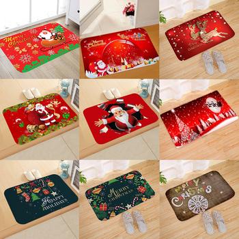 Boże narodzenie Santa Claus dywan flanelowy dekoracje na boże narodzenie dla domu 2020 boże narodzenie ozdoby boże narodzenie Deco Kerst nowy rok 2021 tanie i dobre opinie QIFU CN (pochodzenie) W1861 Bez pudełka Christmas Flannel Carpet natal natale Navidad noel Christmas Decoration for Home