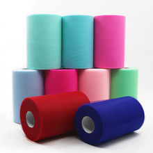 Tulle Roll 100 Yards Organza Wedding Decoration TUTU Baby Shower Tulle Rolls 15cm Decoration Party And Events Engagement Decor