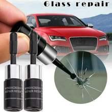 Жидкость для ремонта лобового стекла автомобиля «сделай сам»