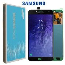 Oryginalny Super AMOLED LCD do SAMSUNG Galaxy J4 J400 J400F J400F/DS J400G/DS wyświetlacz LCD z ekranem dotykowym wymiana zespołu