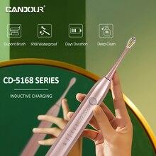 Электрическая зубная щетка candour sonic перезаряжаемая с usb
