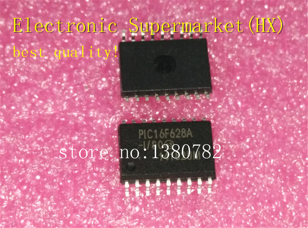 Free Shipping 50pcs/lots PIC16F628A I/SO PIC16F628A PIC16F628  SOP 18 New original  IC-in Integrated Circuits from Electronic Components & Supplies