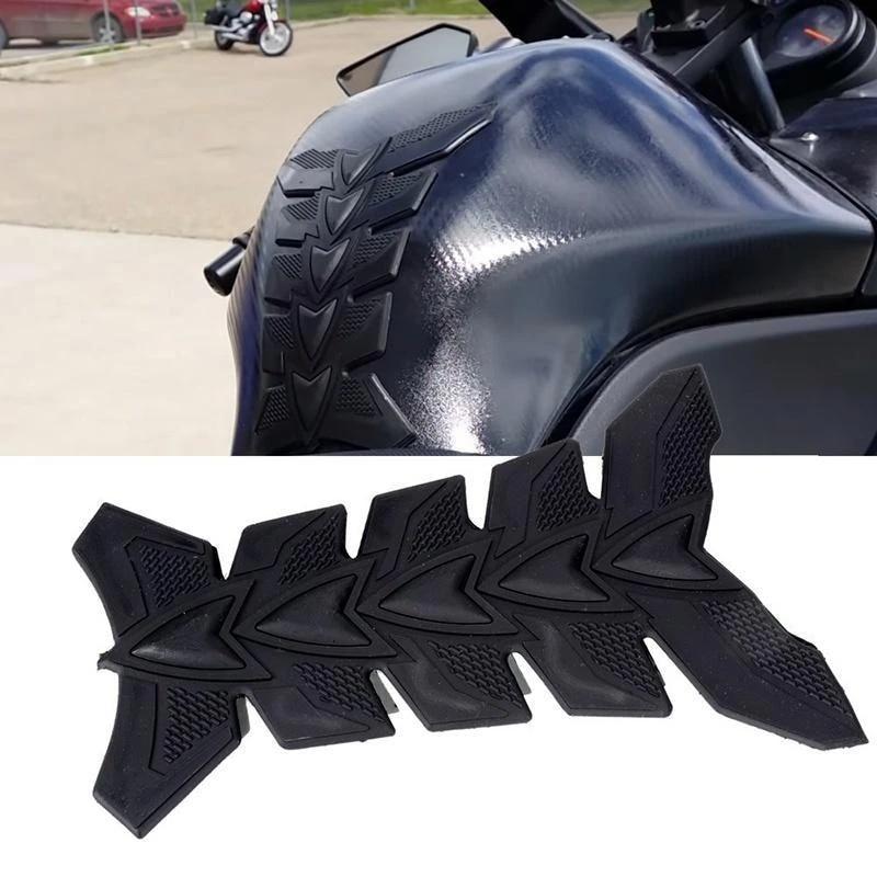amadfjd offre speciale moto reservoir de carburant tapis bourdon course decalcomanie autocollant decoratif reservoir de carburant film de protection
