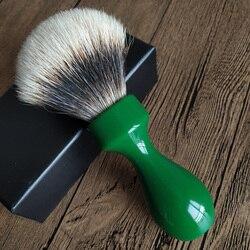 Dscosmetic обсидиан ручка из смолы 24 мм супер барсук волосы узлы щетка для бритья