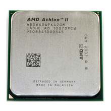 Amd athlon ii x4 640 3.0ghz processador cpu quad-core adx640wfk42gm soquete am3