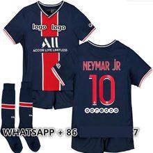 2021 New Kids kit 20 21 Jersey Shirt MBAPPE NEYMAR CAVANI vertopi KIMPEMBE DANI ALVES DI MARIA ICARDI KEAN shirt Top Quality