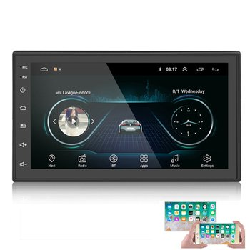 Car Multimedia Player GPS Navigation With Map Player 7 Inch HD Touch Screen MP5 Player Radios Players