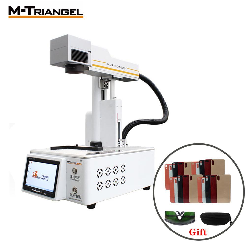 M-Triangel 20 W Fibra Portatile Laser Engraver del Router di Stampante Multifunzione CNC FAI DA TE per LCD Separator Macchina di Taglio Laser