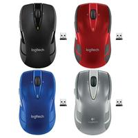 Logitech M545/M546 2.4GHz Wireless Laser Games Mouse Ergonomic Optical Gaming 1000 DPIMice for Laptop Desktop PC