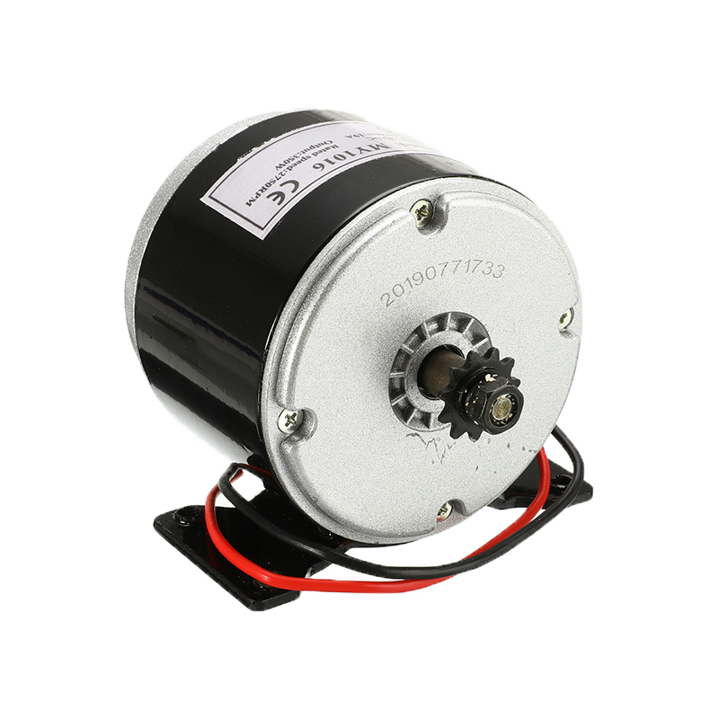 DC 24V 350W 2700RPM DC Motor Permanent Magnet Electric Motor Generator 10x10x9cm For Wind Turbine