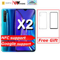 Realme X2 X 2 Del Telefono Del Moblie Snapdragon 730G 64MP Fotocamera 6.4 ''Schermo Intero Nfc Oppo Cellulare Vooc 30W Fast Charger