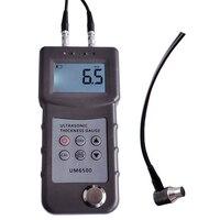 Medidor ultrassônico portátil 1.0 245mm da espessura do metal do medidor do calibre da espessura de um6500 digitas  0.05 8 Polegada (no aço) 0.1mm Detectores de metal industrial     -