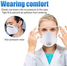 20PCS High-level European Standard N95 Mask FFP2 Mask Professional Mask Effective Anti-virus Mask Anti-bacterial Mask N95 Mask