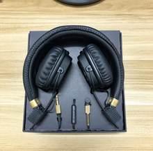 Grande ii bluetooth fones de ouvido sem fio 2nd principais fones de ouvido gamer preto marrom para marshall telefone pc boa qualidade
